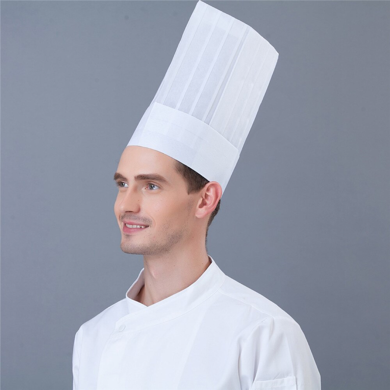 đồng phục mũ đầu bếp