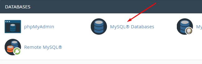 Truy cập MySQL Database trên hosting
