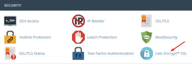 Tạo chứng chỉ SSL với Let's Encrypt ngay trong hosting