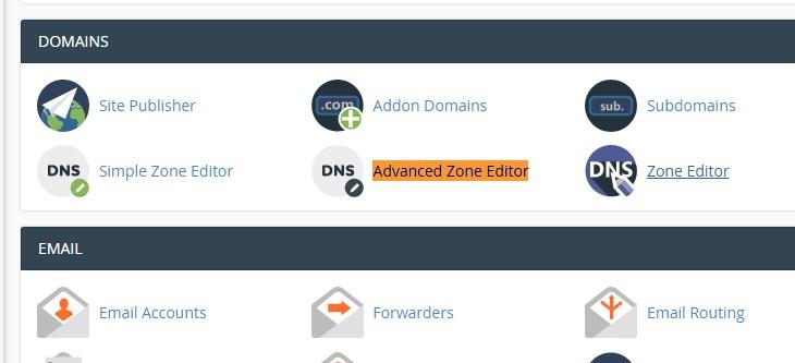 Advanced zone editor