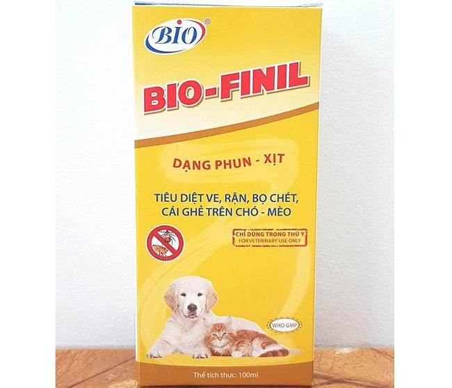 Bio Finil là một trong Các loại thuốc diệt bọ chét hiệu quả và tốt nhất