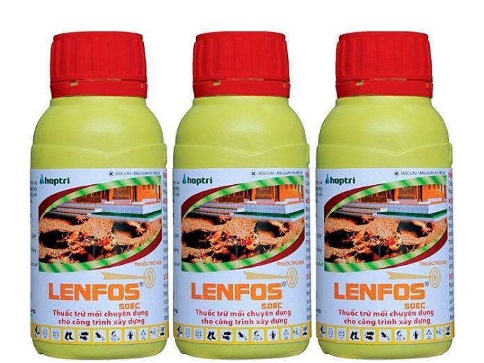 Tổng quan về thuốc diệt mối Lenfos 50 EC