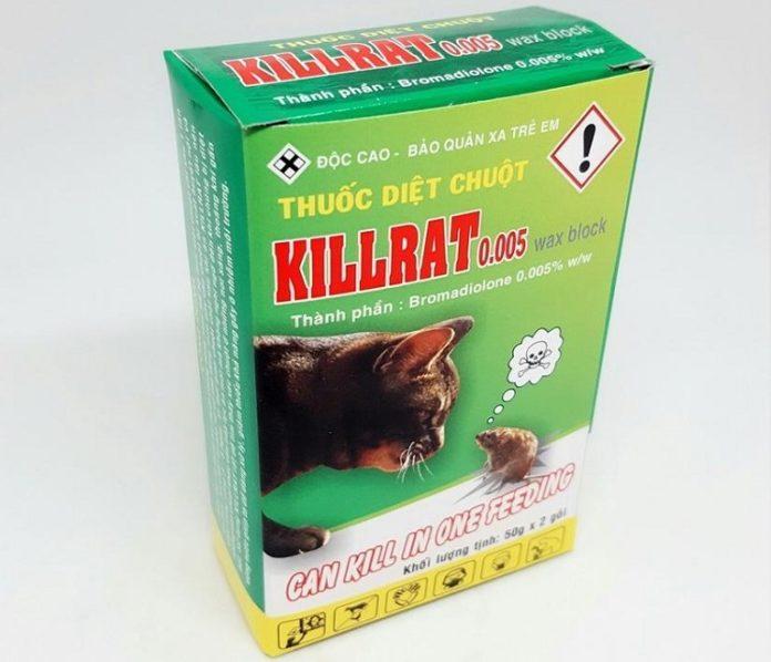 Tổng quan về thuốc diệt chuột Killrat