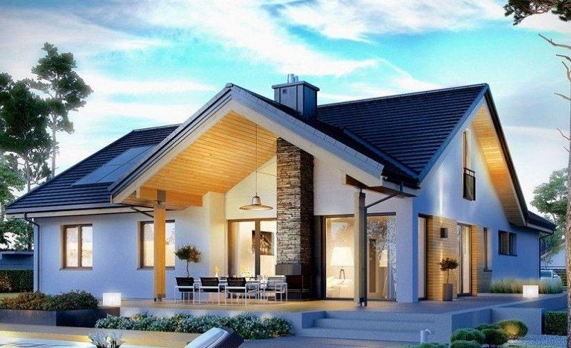 Các mẫu nhà 1 tầng đẹp 2020