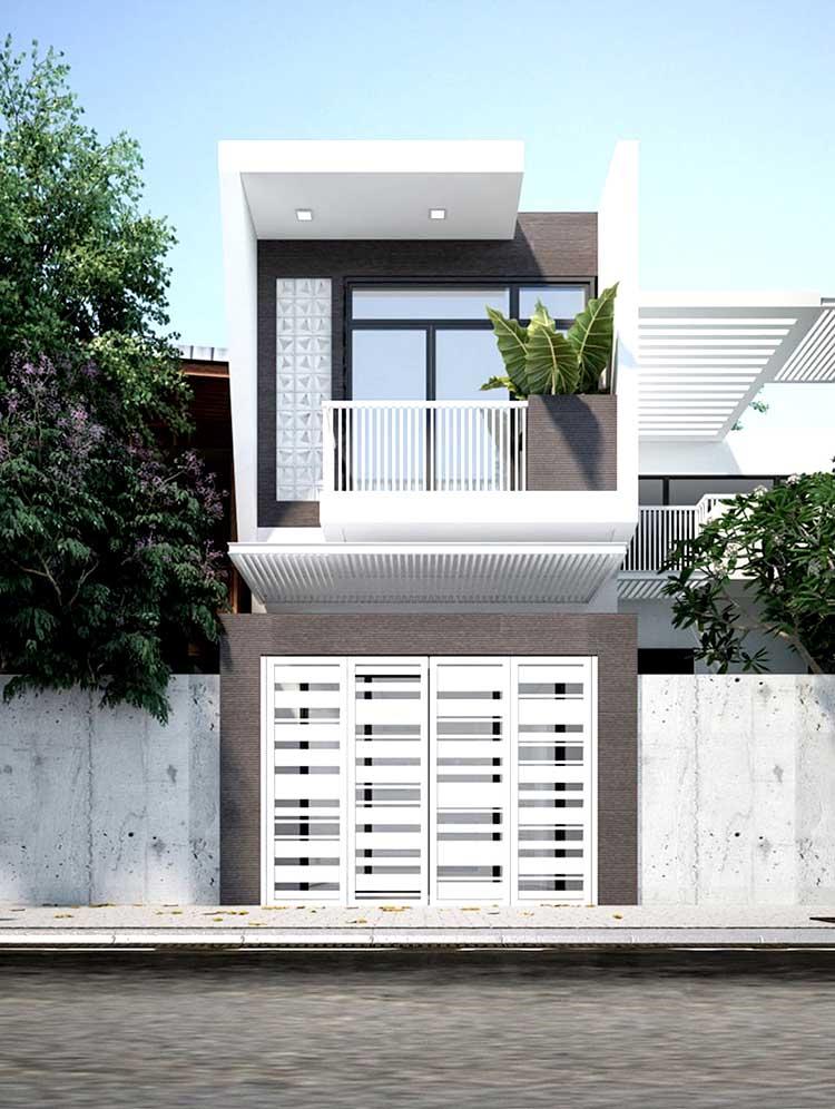 Các mẫu nhà 2 tầng đẹp