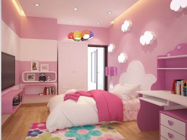 Các mẫu phòng ngủ đẹp cho bé gái