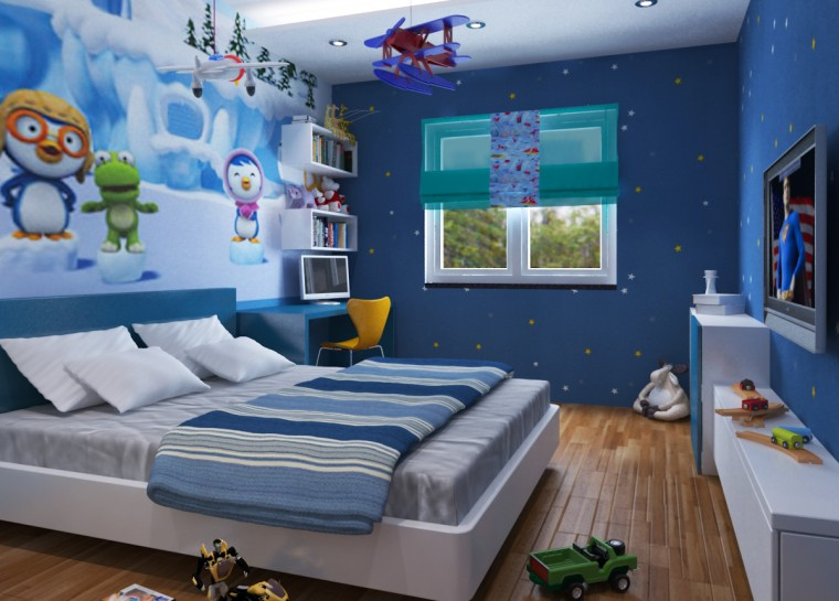 Các mẫu phòng ngủ đẹp cho bé trai