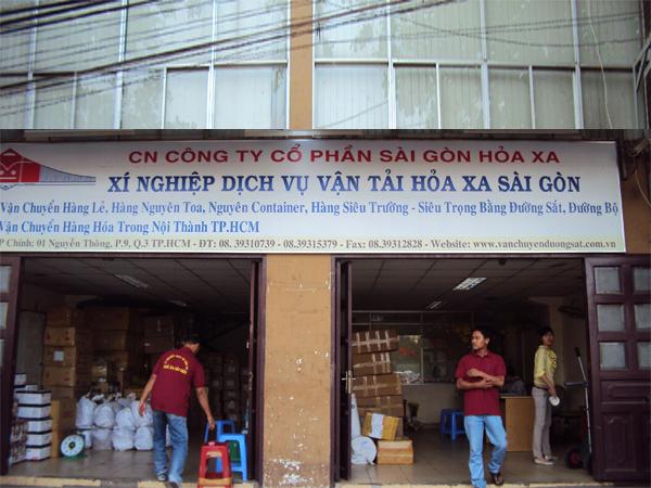 Công Ty TNHH Thương Mại Vận Tải Hỏa Xa Việt Nam