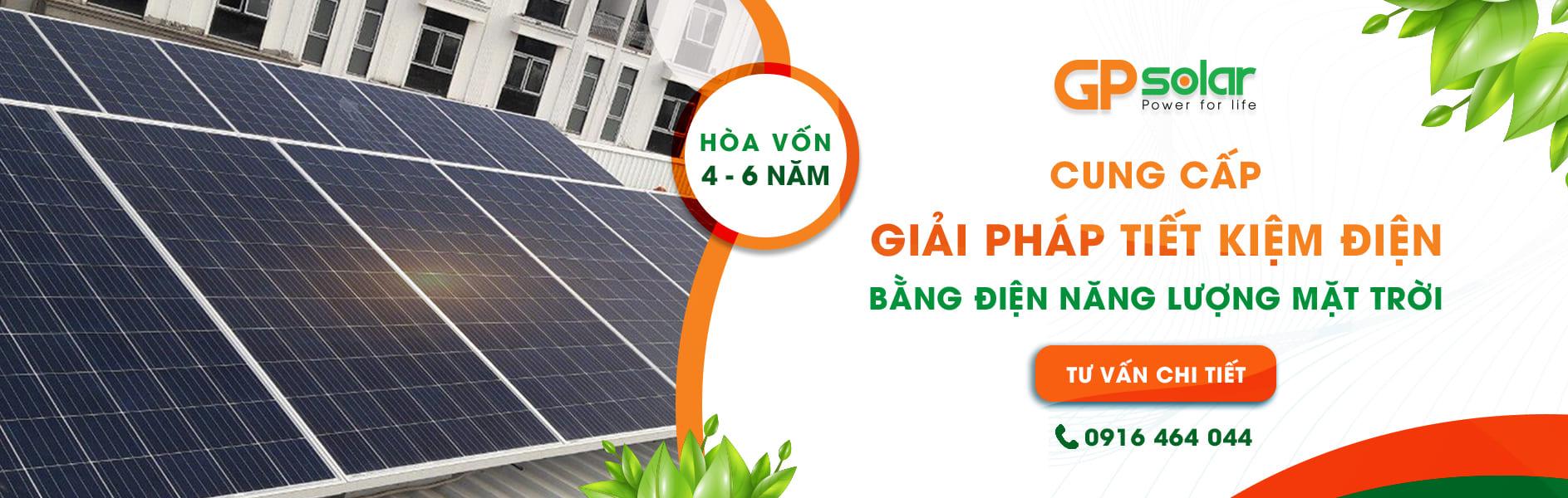 Công ty cổ phần kỹ thuật công nghệ GP Solar