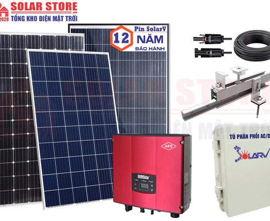 Tổng kho điện mặt trời SOLAR STORE