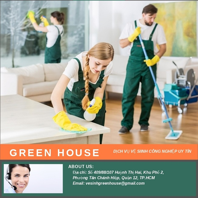 Dịch Vụ Vệ Sinh Công Nghiệp Green House