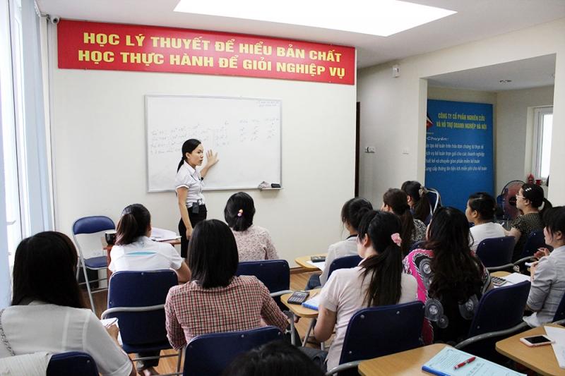 Trung tâm đào tạo kế toán tổng hợp Nhất Nghệ
