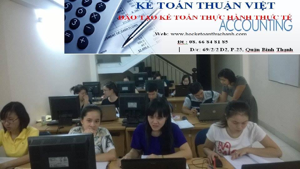 Trung tâm đào tạo Kế toán Thuận Việt
