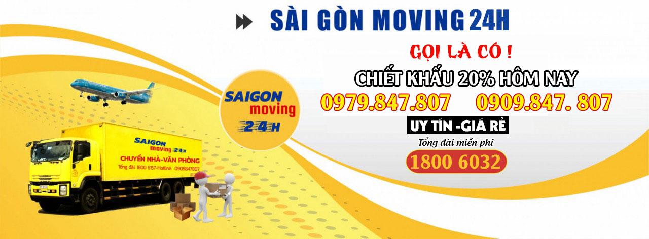 Dịch Vụ Chuyển Văn Phòng Sài Gòn Moving 24h