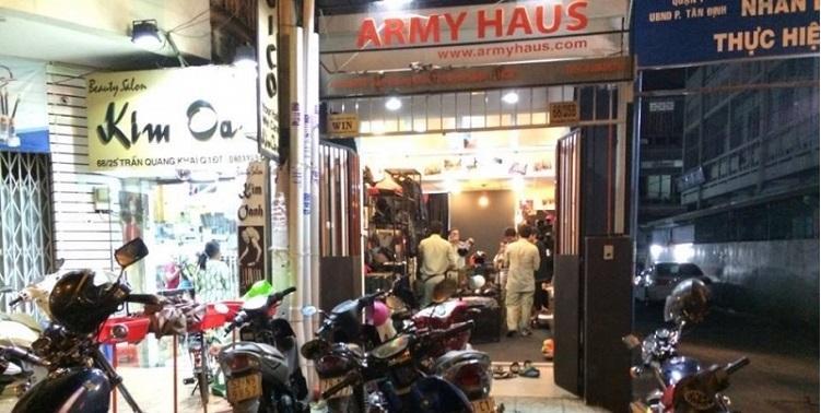 Shop phượt ArmyHaus