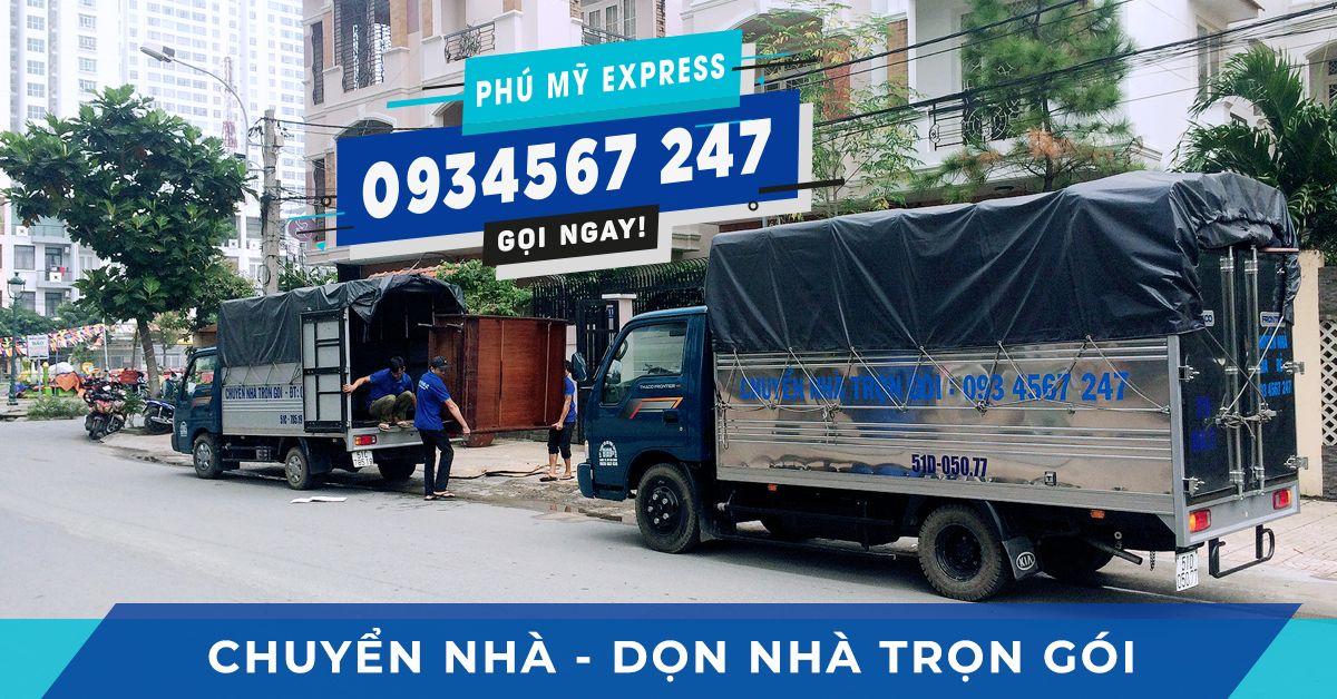 Dịch vụ chuyển nhà trọn gói Taxi Tải Phú Mỹ