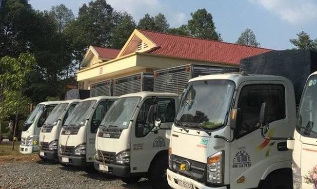 dịch vụ cho thuê xe tải trọn gói uy tín