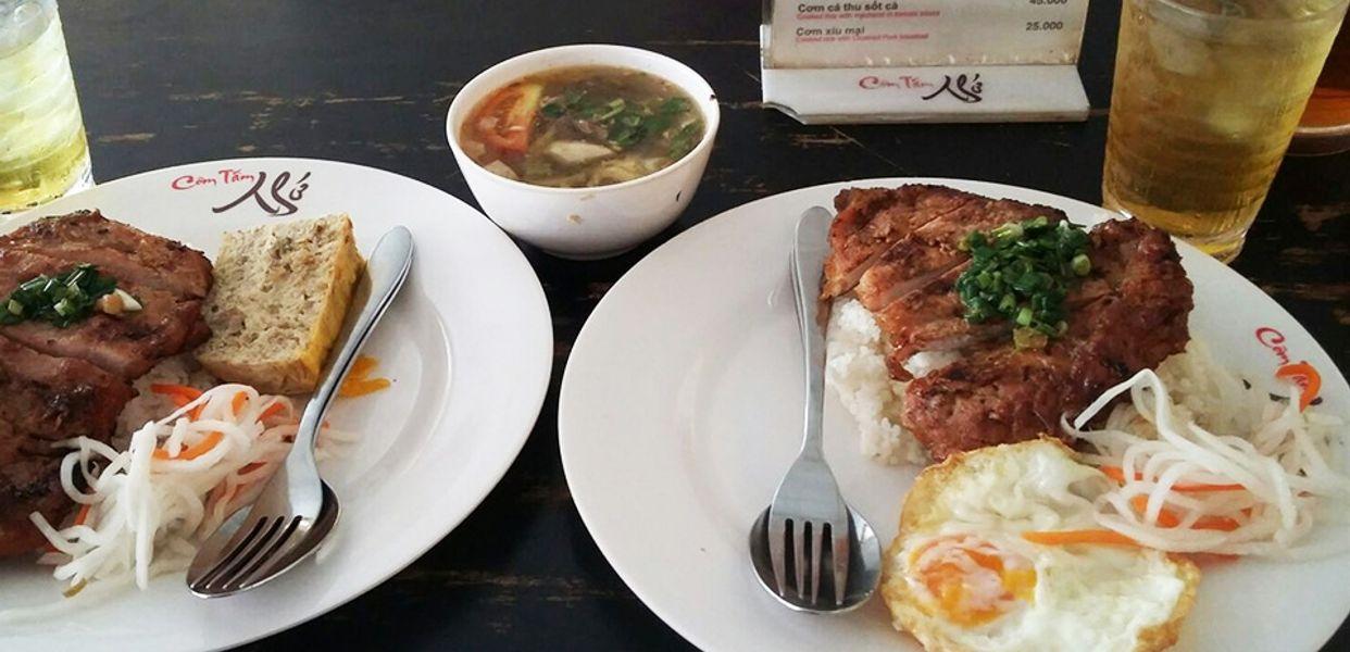 Cơm tấm Bụi Sài Gòn
