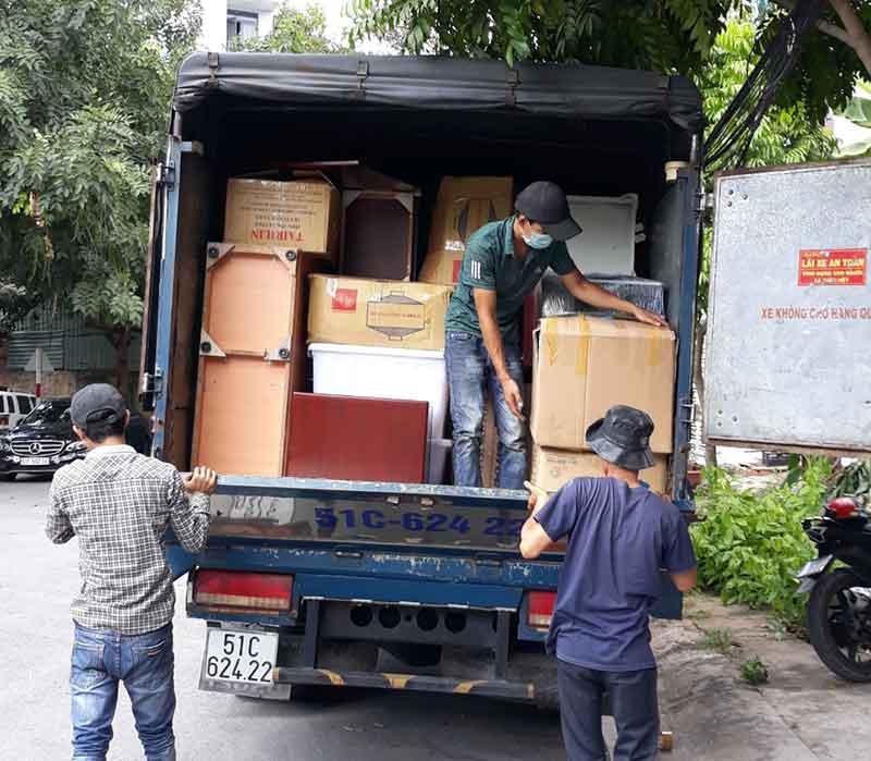 dịch vụ cho thuê xe tải trọn gói quận Gò Vấp