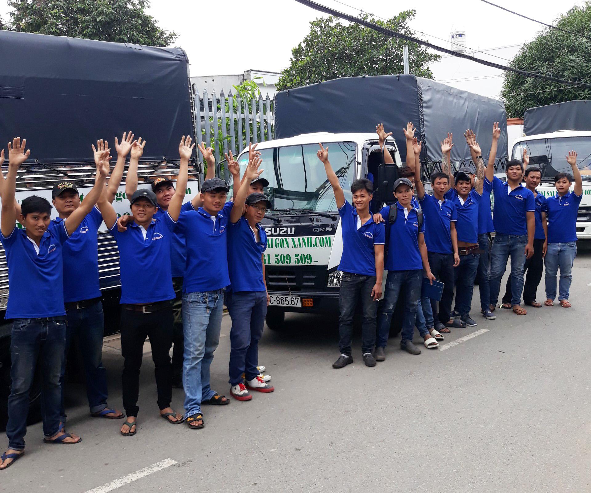 Công ty TNHH Taxi tải Sài Gòn Xanh