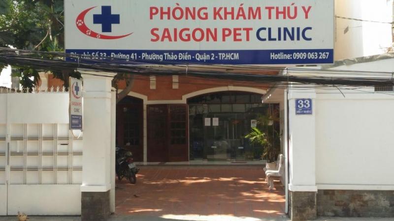 Phòng khám thú y Saigon Veterinary Clinic