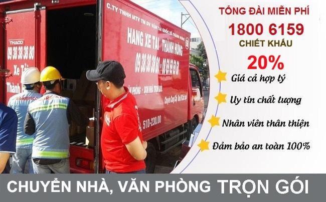 Banner Hãng Taxi Tải Thành Hưng